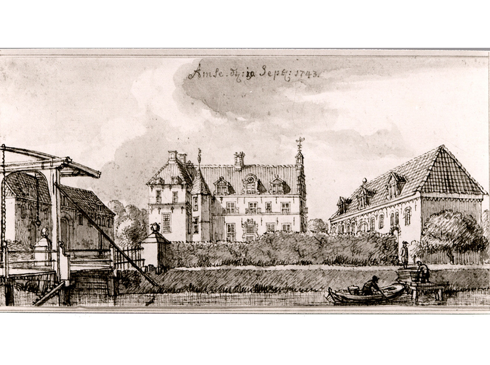 Ampsen in 1743